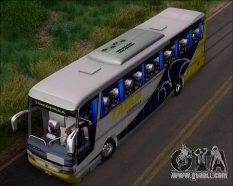 Busscar Vissta Buss LO Mercedes Benz 0-500RS for GTA San Andreas side view