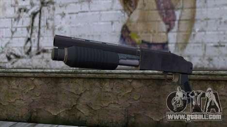 Sawnoff Shotgun from GTA 5 v2 for GTA San Andreas