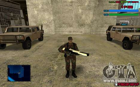 C-HUD by SampHack v.7 for GTA San Andreas third screenshot