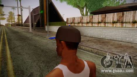 Storm Freerun Cap for GTA San Andreas second screenshot