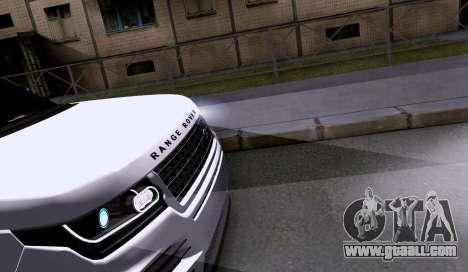 Land Rover Range Rover Startech for GTA San Andreas back view