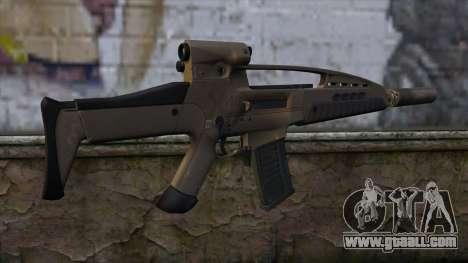 XM8 Assault Dust for GTA San Andreas second screenshot