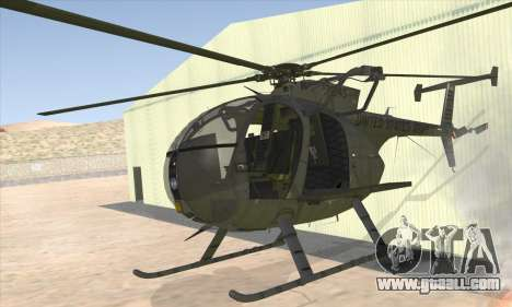 MH-6 Little Bird for GTA San Andreas