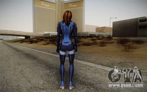 Ashley from Mass Effect 3 for GTA San Andreas second screenshot