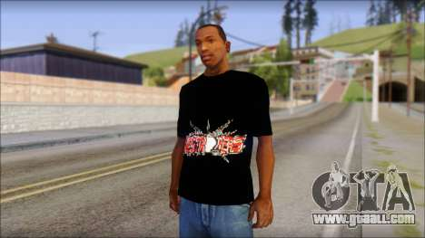 Destroyers T-Shirt Mod for GTA San Andreas