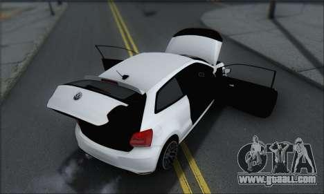Volkswagen Polo for GTA San Andreas interior