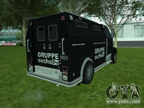 Securicar из GTA 3 for GTA San Andreas right view