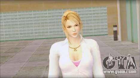 Sarah from Dead or Alive 5 v1 for GTA San Andreas third screenshot