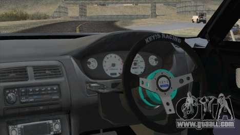 Toyota Chaser Tourer Stock v1 1999 for GTA San Andreas back left view