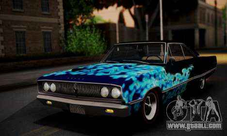 Dodge Coronet 440 Hardtop Coupe (WH23) 1967 for GTA San Andreas engine