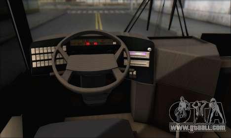 Sada Bahar Coach for GTA San Andreas upper view
