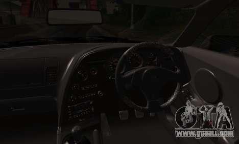 Toyota Supra Stock for GTA San Andreas inner view