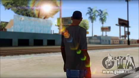 I love my gun T-Shirt for GTA San Andreas second screenshot