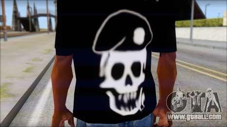 The Expendables Fan T-Shirt v1 for GTA San Andreas third screenshot