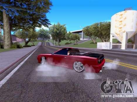 Elegy Cabrio HD for GTA San Andreas right view