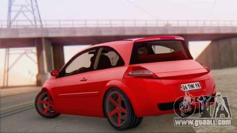 Renault Megane II HatchBack for GTA San Andreas left view