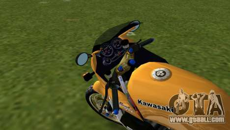 Kawasaki GPZ900R Ninja Tuned for GTA Vice City back left view