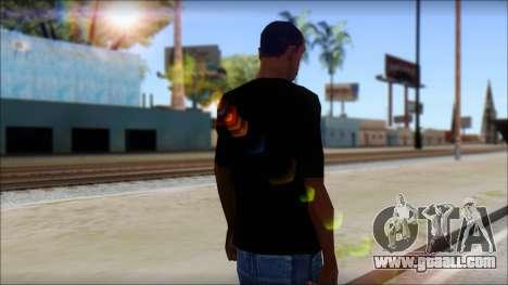 Max Cavalera T-Shirt v2 for GTA San Andreas second screenshot