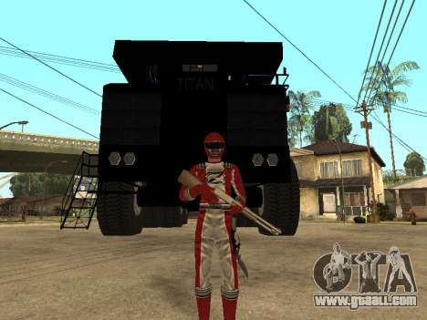Power Rangers Operation Overdrive for GTA San Andreas second screenshot