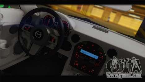Mazda MX-5 2010 for GTA San Andreas back left view