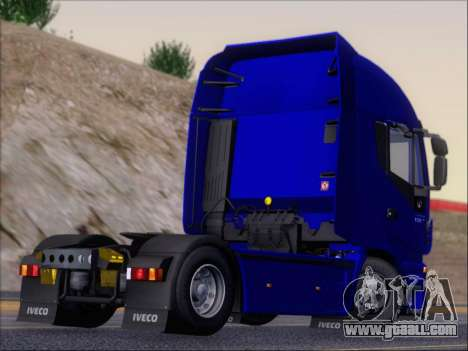 Iveco Stralis HiWay 560 e6 4x2 for GTA San Andreas back view