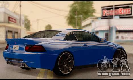 Ubermacht Zion XS 1.0 for GTA San Andreas left view