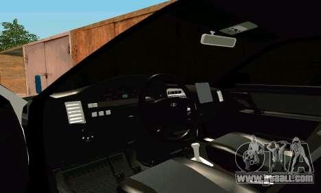 VAZ 21123 Turbo for GTA San Andreas inner view