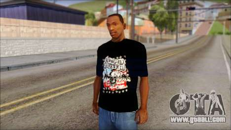 A7X Stars And Stripes T-Shirt for GTA San Andreas