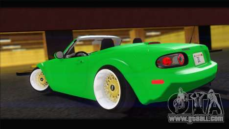 Mazda MX-5 2010 for GTA San Andreas left view