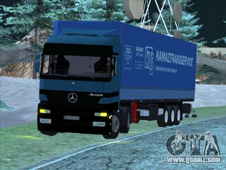 Mercedes-Benz Actros 1840 for GTA San Andreas left view
