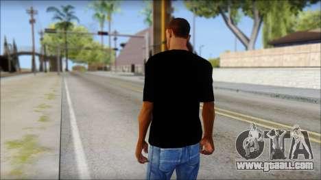WWE Logo T-Shirt mod v2 for GTA San Andreas second screenshot