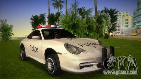 Porsche 911 GT3 Police for GTA Vice City