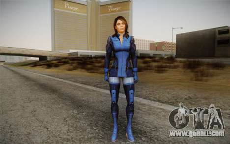 Ashley from Mass Effect 3 for GTA San Andreas