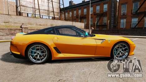 Ferrari 599 GTO PJ2 for GTA 4 left view