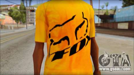 Cj Fox T-Shirt for GTA San Andreas third screenshot
