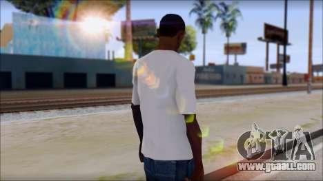 Adio T-Shirt for GTA San Andreas second screenshot