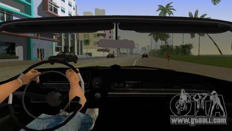 Cadillac Eldorado for GTA Vice City inner view