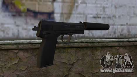USP-S from CS:GO v2 for GTA San Andreas second screenshot