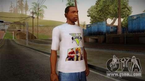 GTA 5 MFT T-Shirt for GTA San Andreas