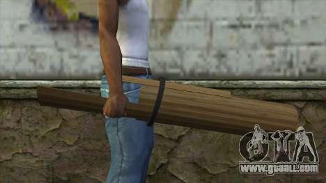 Senjata Kentongan Sahur for GTA San Andreas third screenshot