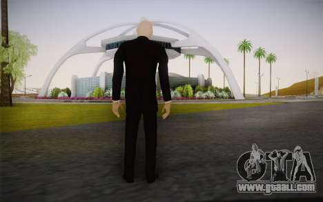 Slenderman for GTA San Andreas second screenshot