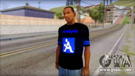 T-Shirt A-Style for GTA San Andreas