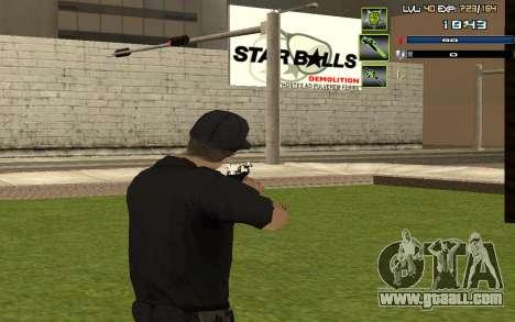 C-HUD by SampHack v.5 for GTA San Andreas third screenshot