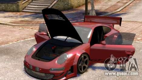Porsche 911 GT3RSR for GTA 4 inner view