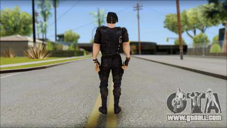 Barney Ross for GTA San Andreas second screenshot