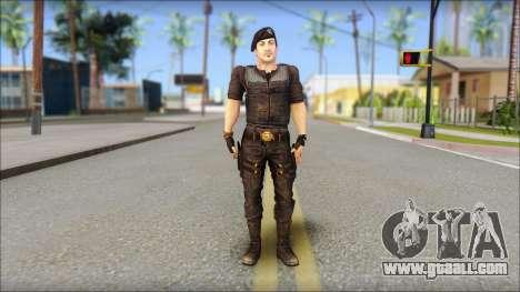Barney Ross for GTA San Andreas