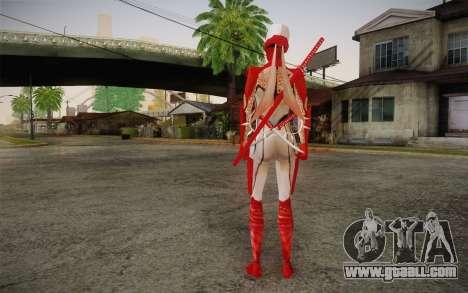 Hibana from Nigthshade of Shinobi for GTA San Andreas