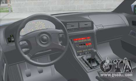 BMW E31 850CSi 1996 for GTA San Andreas inner view