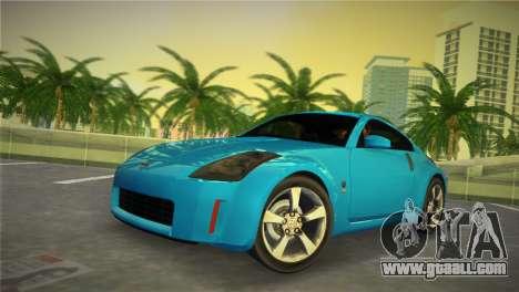 Nissan 350Z for GTA Vice City