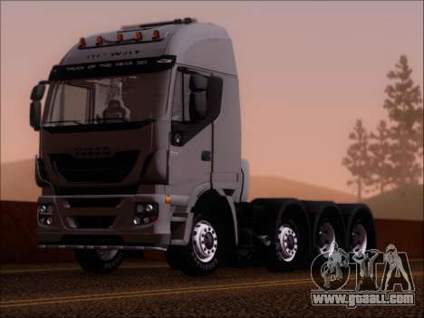 Iveco Stralis HiWay 560 E6 8x4 for GTA San Andreas side view